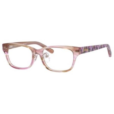 JUICY COUTURE Eyeglasses 159 0P40 Brown 52MM Juicy Couture Brown Eyeglasses
