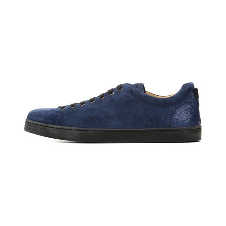 George Brown Blit Men's Baldwin Lace To Toe Suede Sneakers