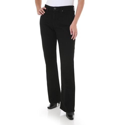 Wrangler Women's Plus-Size Natural Fit Straight Leg Jeans