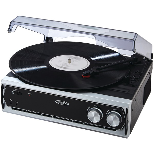 Jensen JTA-232 3-Speed Stereo Turntable by Jensen