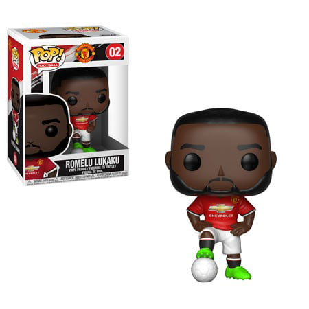 Funko 29223 Pop! Football S1: Manchester United - Romelu