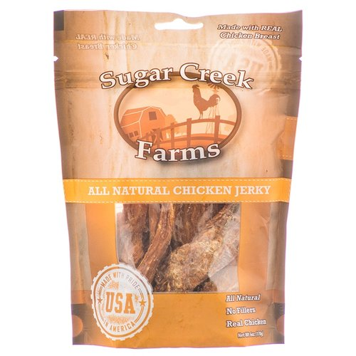 Sugar Creek Farms All Natural Chicken Jerky for Dogs 6 oz