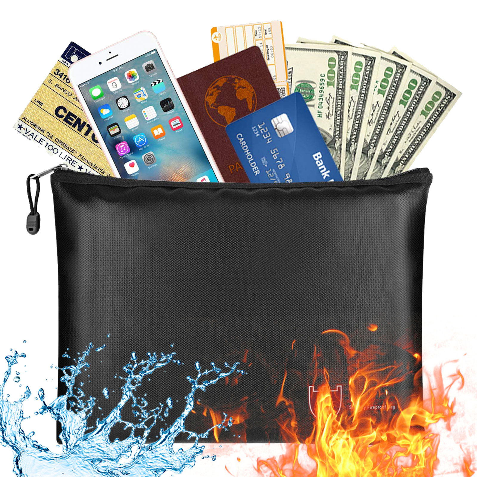 Fireproof Document Bags Fire Safe Document Holder