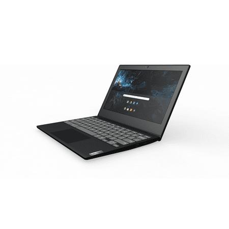 """Lenovo 3 11"""" Celeron 4GB/32GB Chromebook, 11.6"""" HD Display, Intel Celeron N4020 Dual-Core Processor, 4GB RAM, 32GB eMMC Solid State Drive, Chrome OS - Onyx Black - 82BA0000US"""