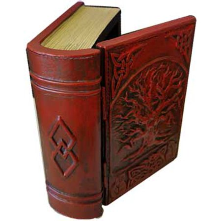 Hinged Cover Card File Box (Fortune Telling Toy Tarot Card Box Storage Bountiful Tree of Life Book With Hinged)