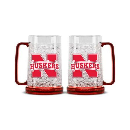 Nebraska Cornhuskers Crystal Freezer Mug