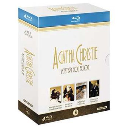 Agatha Christie (Mystery Collection) - 4-Disc Box Set ( Murder on the Orient Express / Death on the Nile / The Mirror Crack'd / Evil Under the Sun ) [ Blu-Ray, Reg.A/B/C Import - Netherlands ]