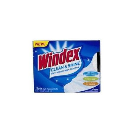 Windex Clean & Shine Microfiber Cloths