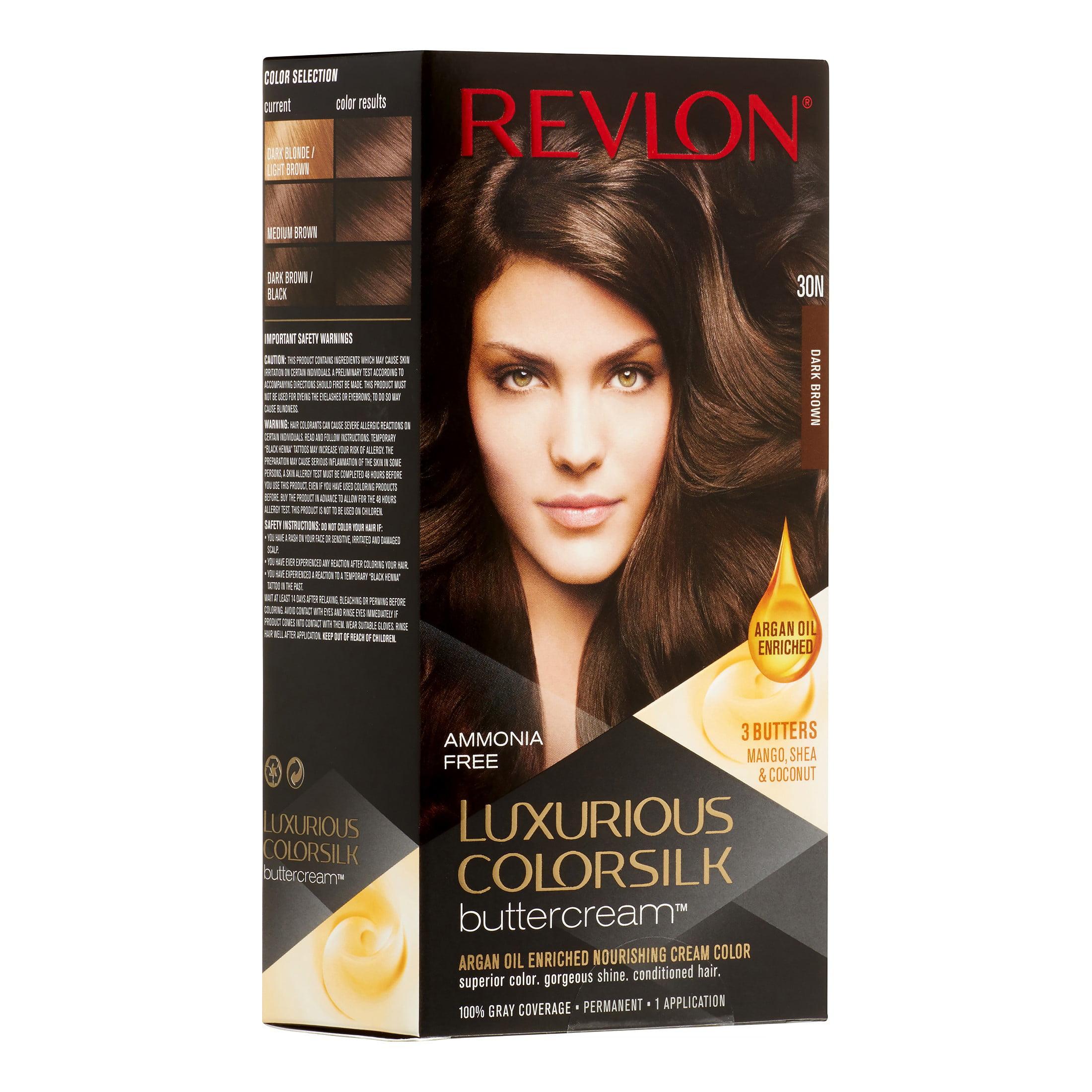Revlon Colorsilk Buttercream Hair Color 53 Medium Golden Brown