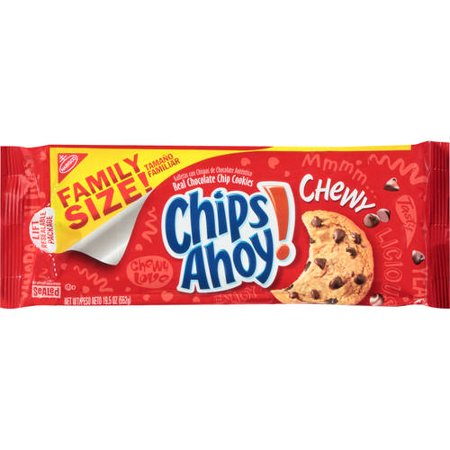 (3 Pack) Chips Ahoy! Chewy Cookies, 19.5 Oz