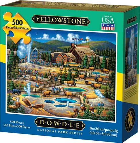 - Dowdle Jigsaw Puzzle - Yellowstone National Park 2016 - 500 Piece