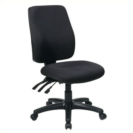 Awe Inspiring Office Star High Back Office Chair With Ratchet Back Height Adjustment Laguna Pdpeps Interior Chair Design Pdpepsorg