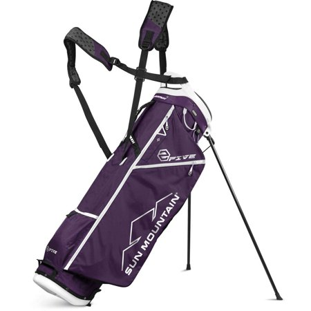 Sun Mountain 2 Five Womens Stand Golf Bag 2017 Purple White