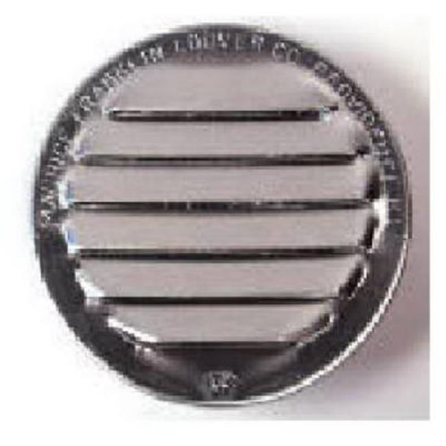 CV1BW 1 in. White Circle Vent, 6 Pack