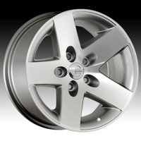 Mamba 581S MR1X Silver 16x8 5x4.5 13mm (MR1X686513S)