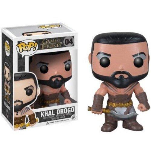 Funko Game of Thrones Kahl Drogo Pop! Vinyl Bobble Head Figure