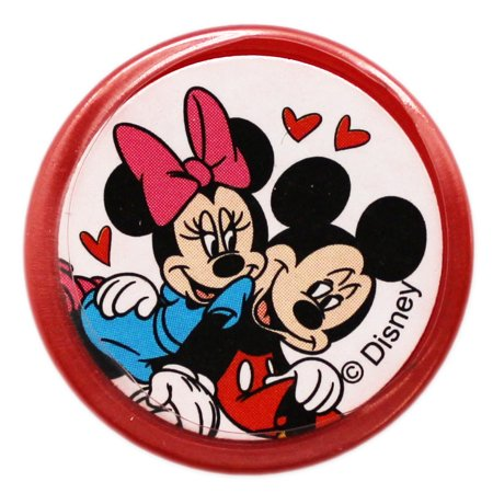 Disney's Mickey and Minnie Mouse Love Birds Red Case Self-Inking Stamp - Minnie And Mickey Mouse Halloween Coloring Pages