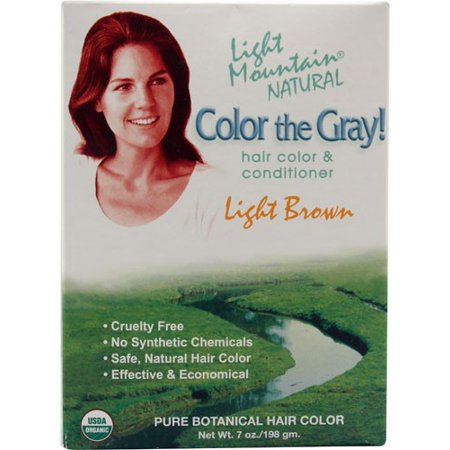 1e0af1f8e Lotus Brands Light Mountain Color the Gray! Natural Hair Color    Conditioner