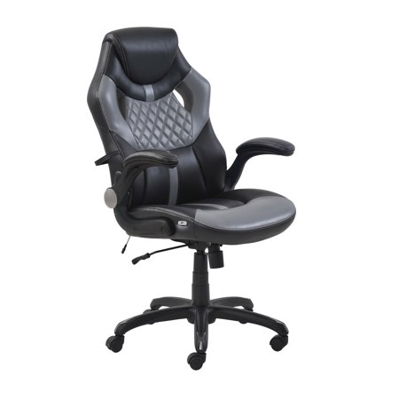 True Innovations Racing Style Gaming Chair, Contrasting Colors