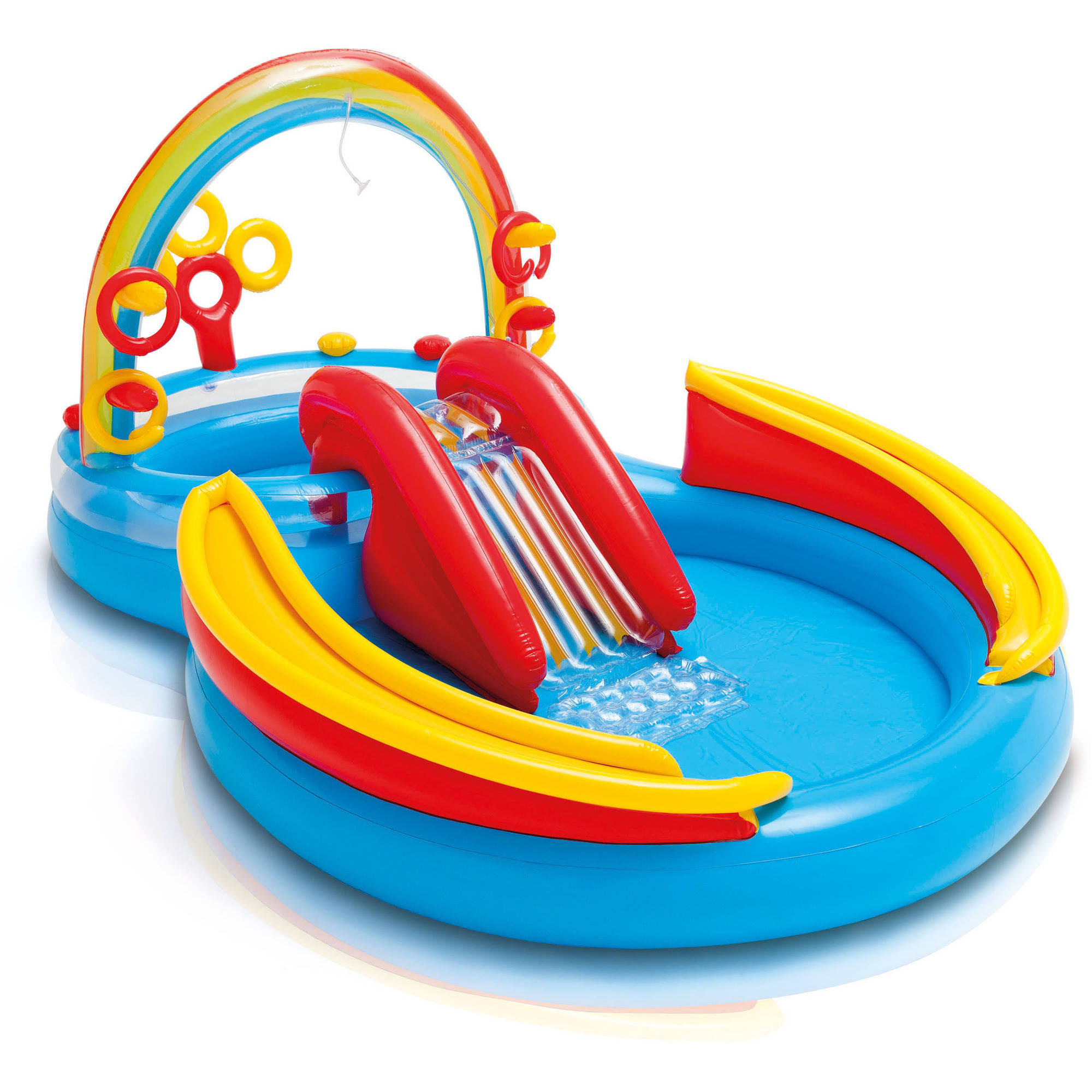 Kids Pools With Slides kiddie & inflatable pools - walmart
