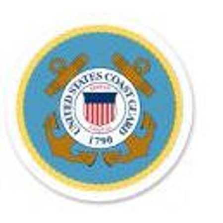 Guard Emblem - Item#40476 - Coast Guard Emblem -1/4 (Quarter Sheet) Edible Photo Image Cake Decoration