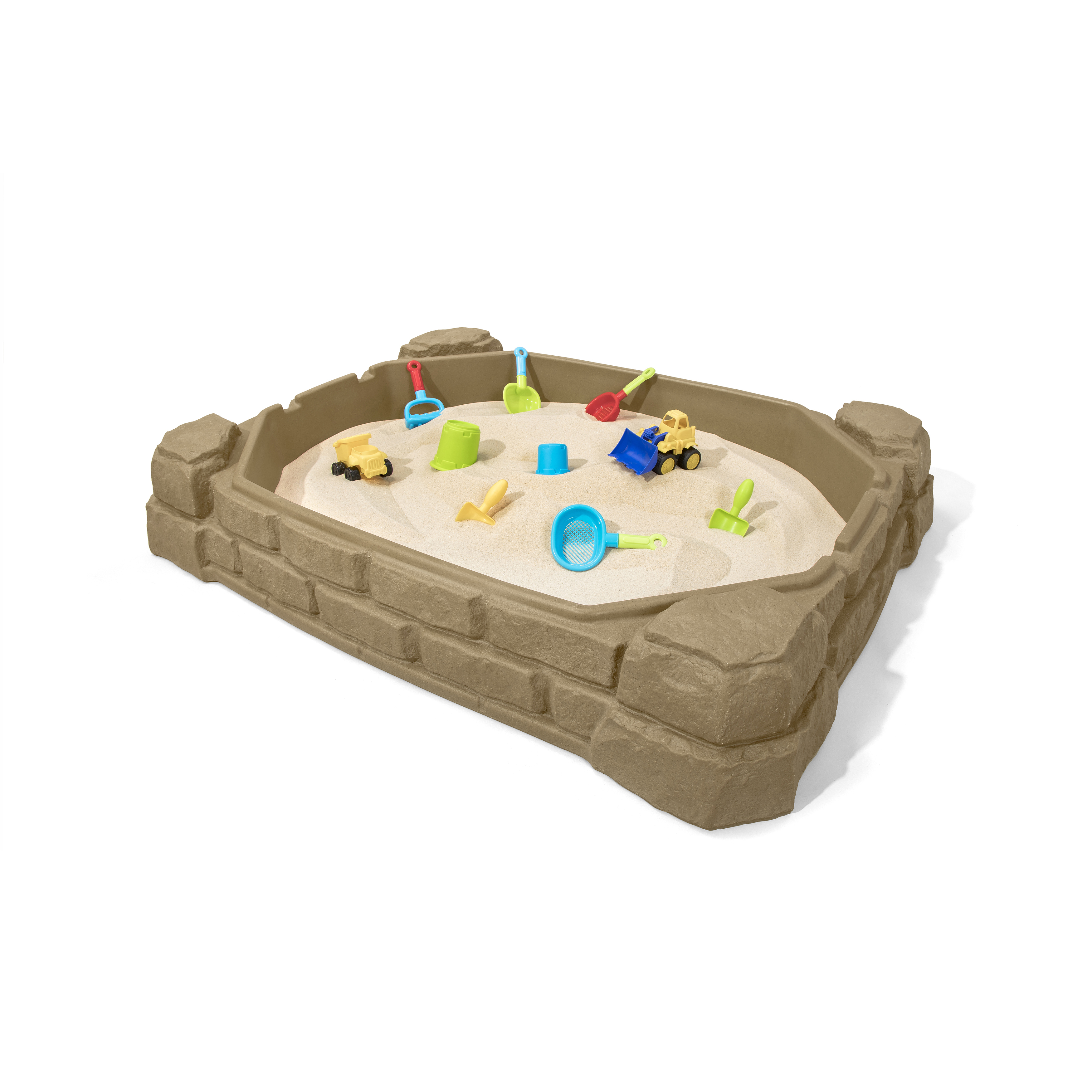How Much Sand For Step 2 Sandbox