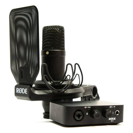 Rode Complete Studio Kit (Rode Videomic Pro Microphone Studio Boom Kit)