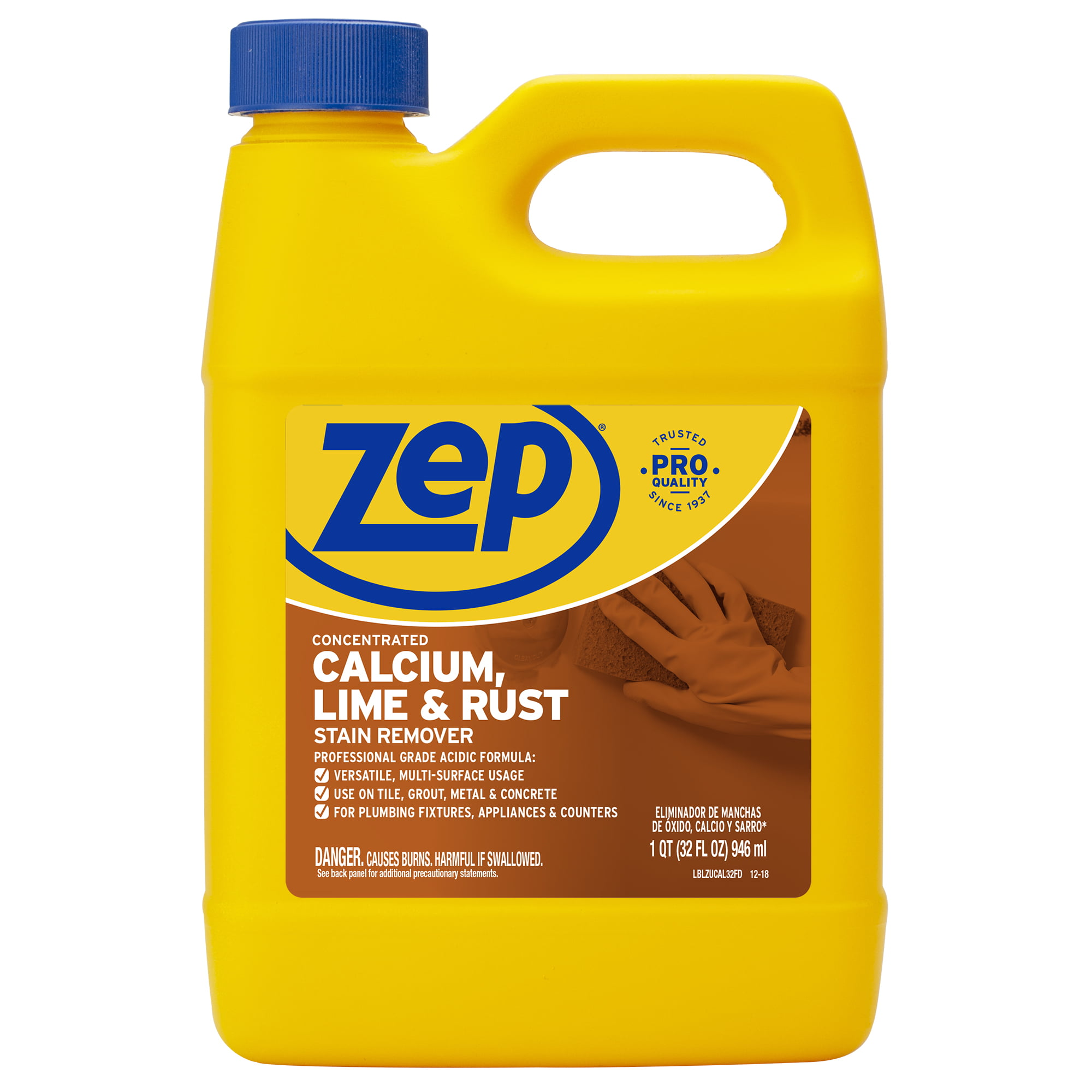 Zep Calcium, Lime and Rust Stain Remover, 32 oz