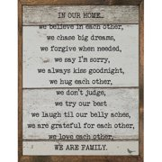 Forest Creations Print Framed Textual Art
