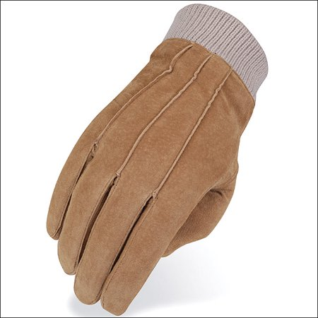 06 Size Heritage Suede Leather Winter Horse Riding Equestrian Glove Tan