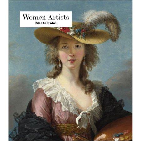 2019 Women Artists Easel Calendar, by Retrospect Group