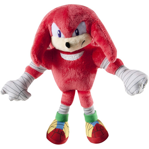 "TOMY 8"" Plush, Knuckles"