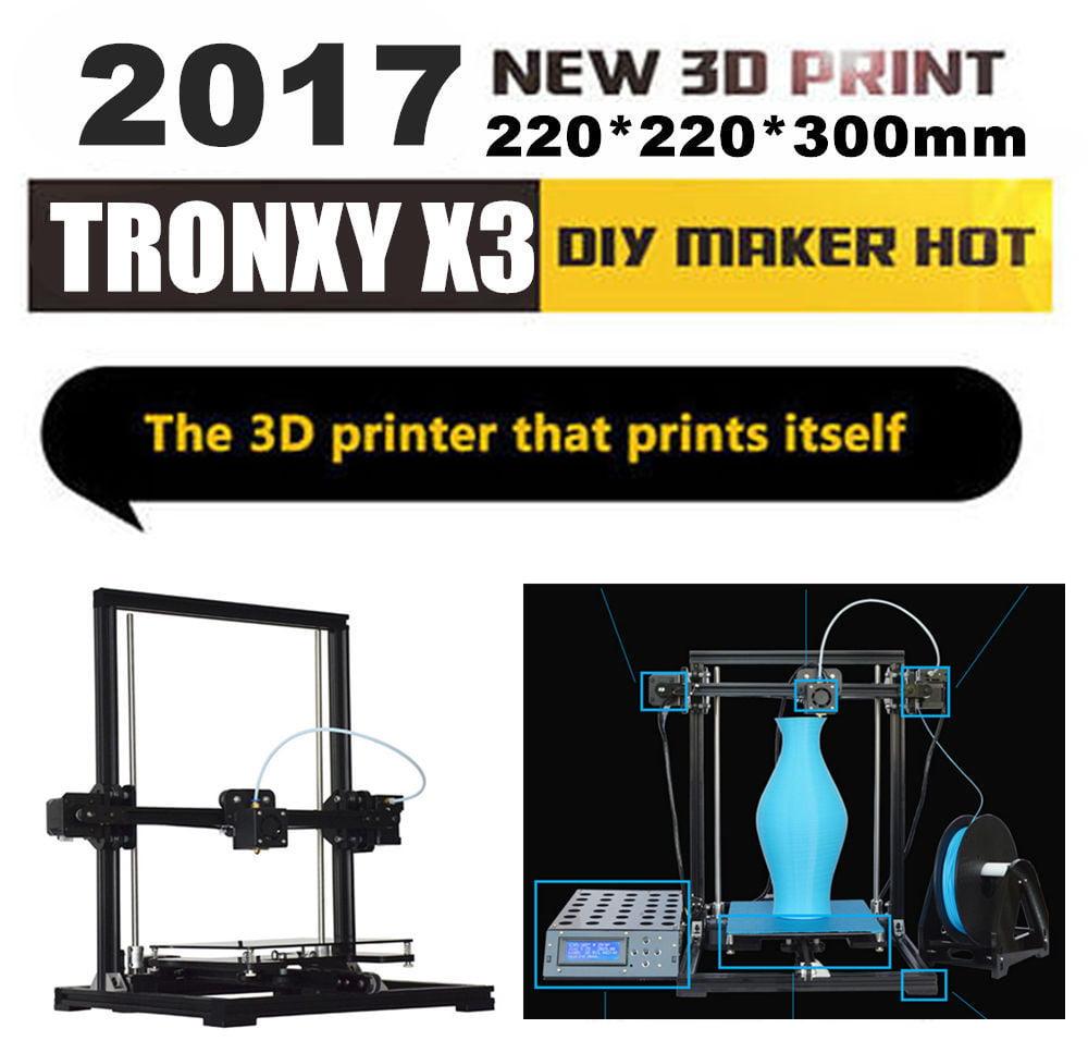 TRONXY X3 DIY 3D Printer High Precision Alumunium PLA/ABS 3D Home