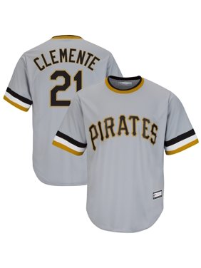 Roberto Clemente Pittsburgh Pirates Road Cooperstown Collection Replica Player Jersey - Gray