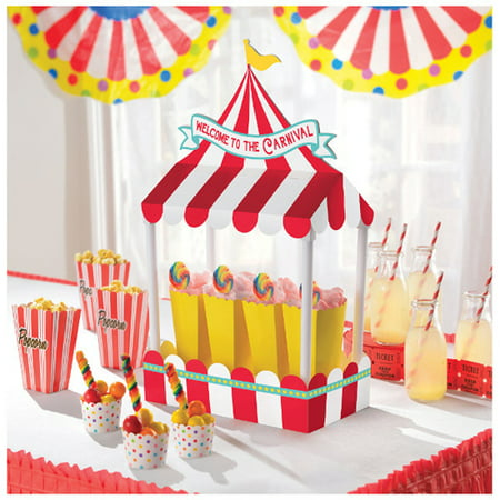 Carnival Party Deluxe Table Decoration (1ct) (Cheap Carnival Decorations)
