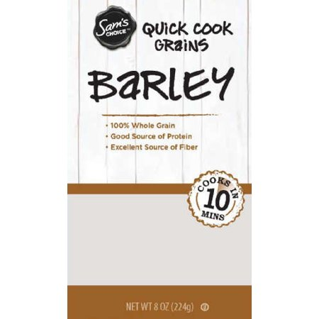 (3 Pack) Sam's Choice Quick Cook Barley, 8 (Activated Barley)