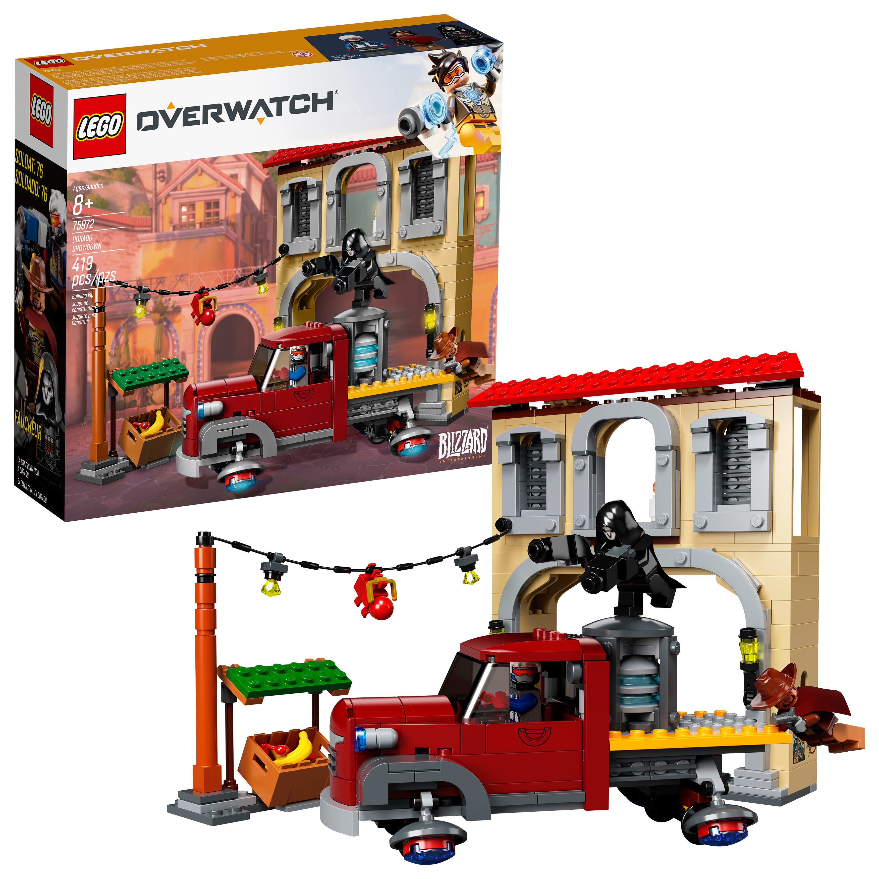 LEGO Overwatch Dorado Showdown 75972 - Walmart.com