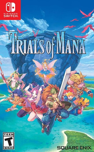 Trials of Mana, Square Enix, Nintendo Switch, 662248923468