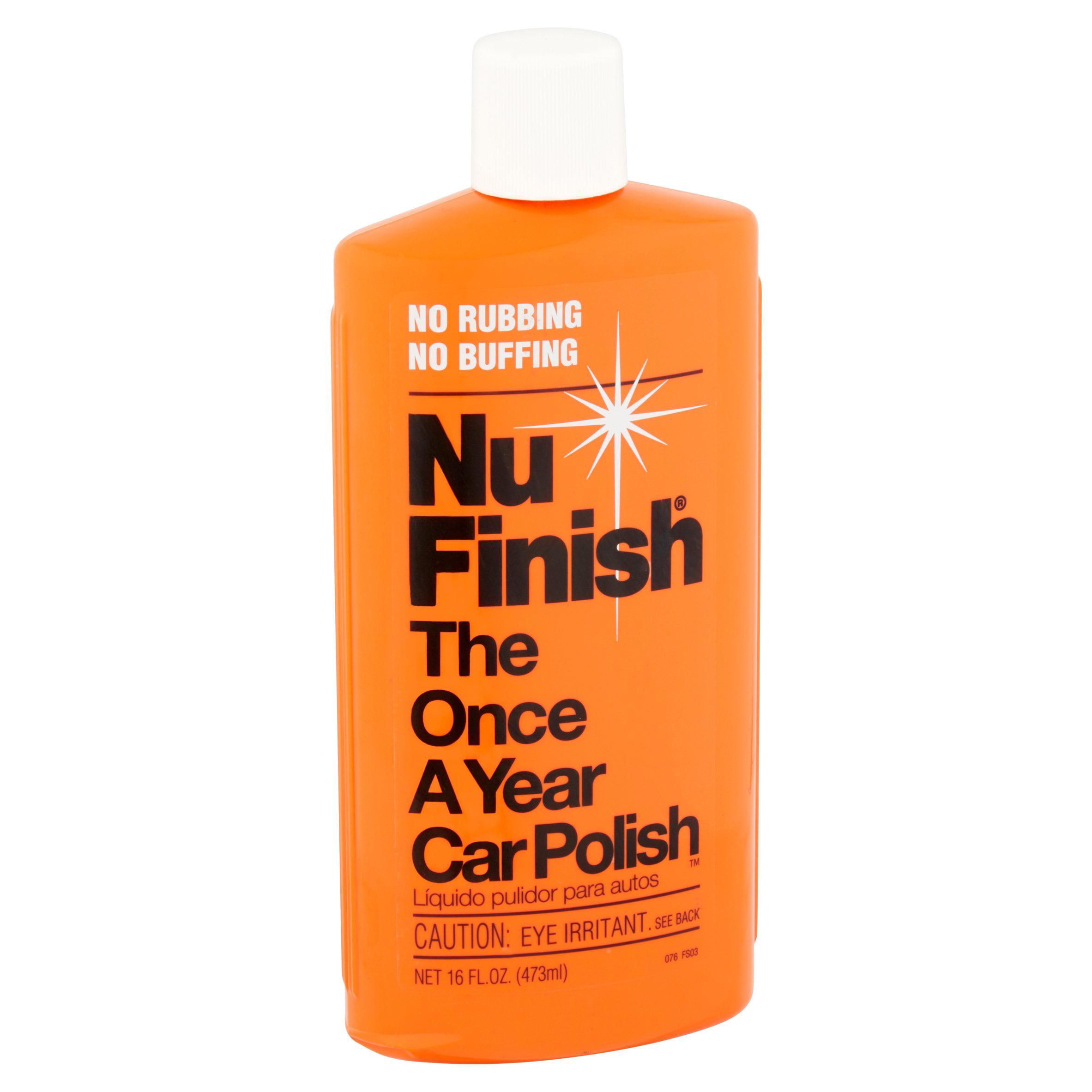 Nu Finish The Once A Year Car Polish, 16 fl oz