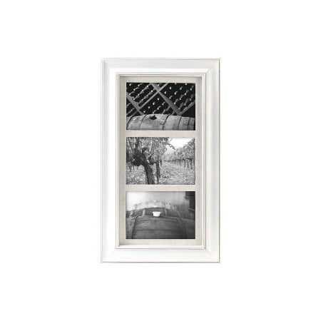 3 Opening 5x7 Barnside White Matted Picture Frame Walmartcom