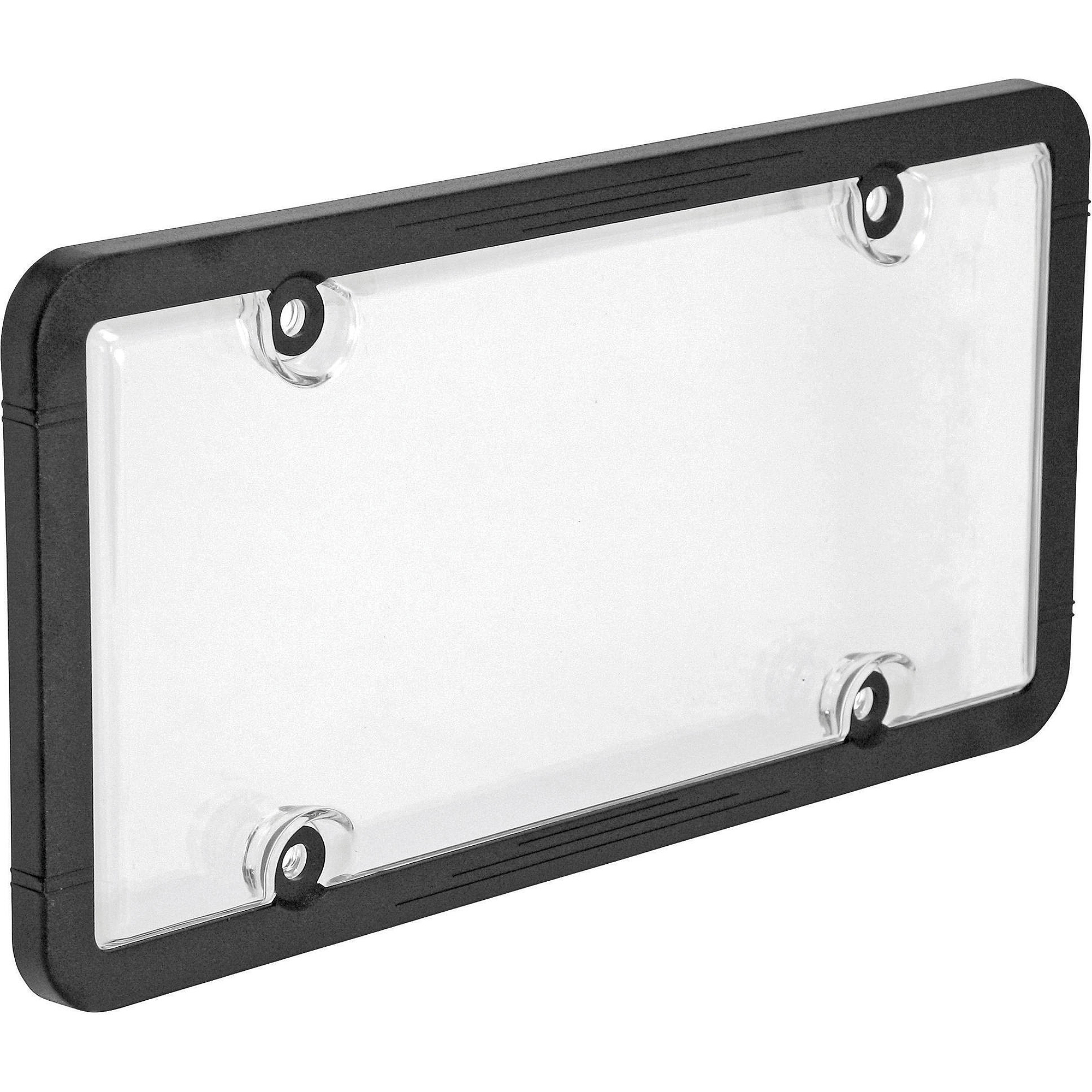 auto drive license plate frame and cover black walmartcom