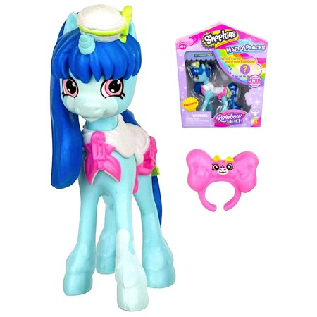 Popsicorn Rainbow Beach Happy Places Doll 3""