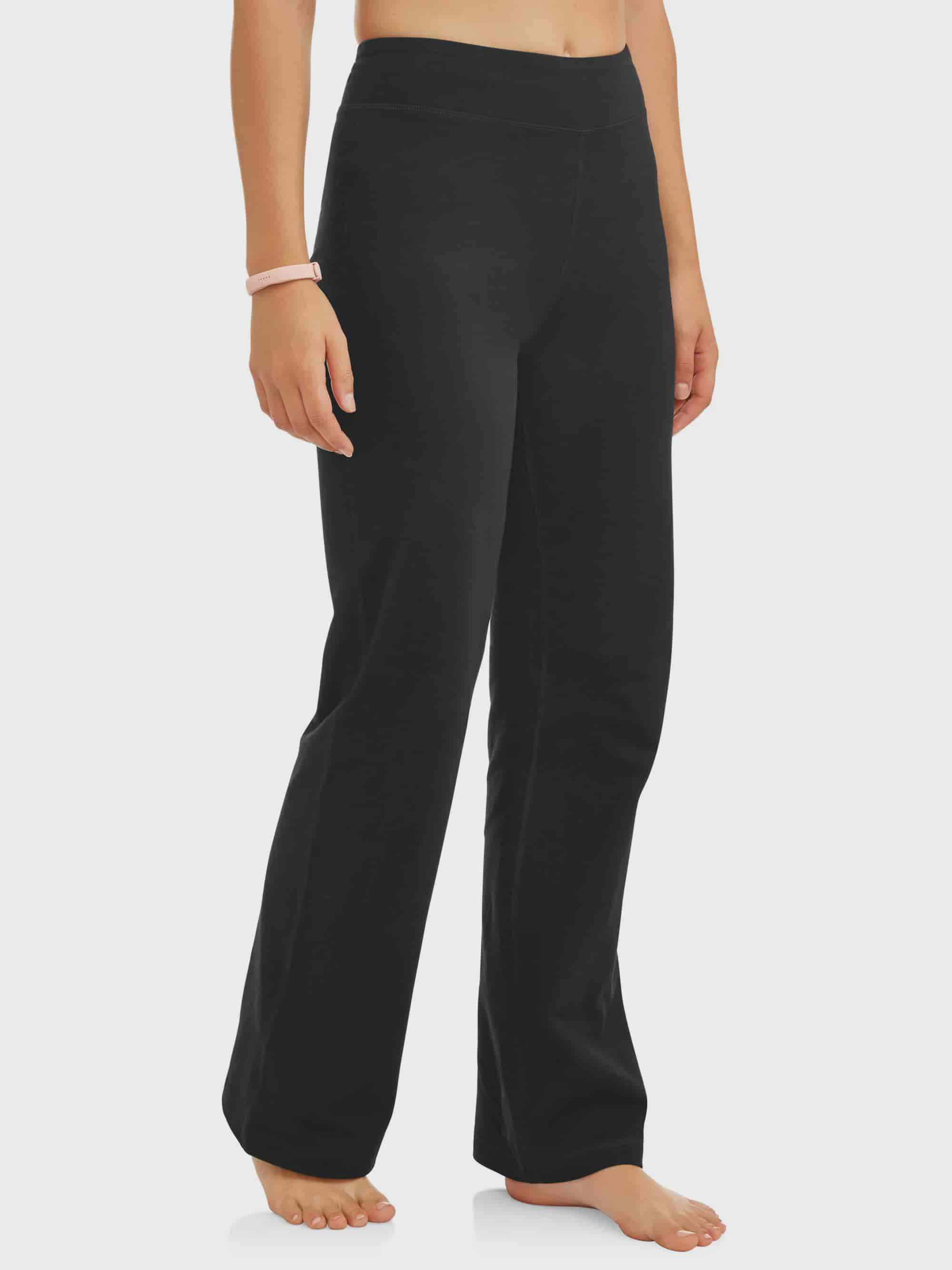 f901540138573 Athletic Works - Women's Dri More Core Bootcut Yoga Pant Available in  Regular and Petite - Walmart.com