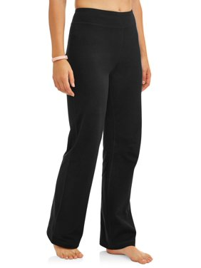 Athletic Works Women's Dri More Core Athleisure Bootcut Yoga Pants Available in Regular and Petite