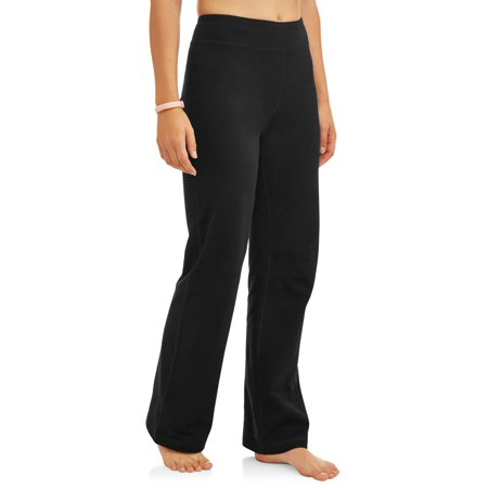 Women's Dri More Core Bootcut Yoga Pant Available in Regular and - Logo Capri Pants