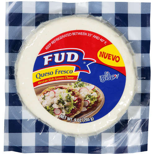 Fud Mexican Style Farmers Cheese Queso Fresco, 9 oz