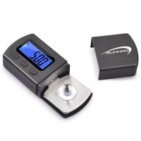 iSunnao Digital Turntale Stylus Tracking Force Gauge for Tonearm Phono Cartridge with Blue LCD Backlight - 0.01g Battery Included