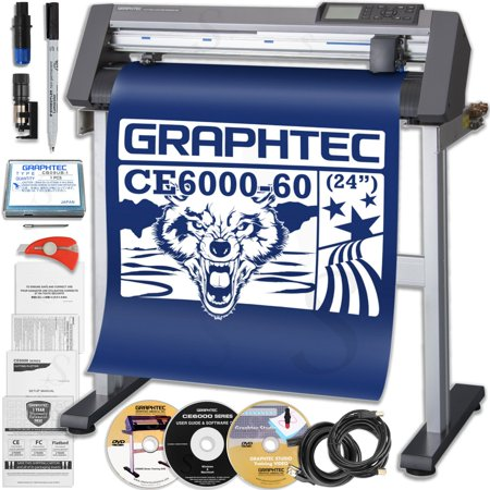 Graphtec CE6000-60 PLUS - 24 Inch Professional Vinyl Cutter & Plotter with $700 in