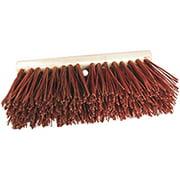 BIRDWELL 3016-6 Street Broom Head, 6-1/4 in L Trim