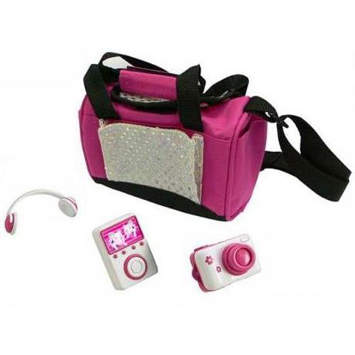 Teacup Piggies Deluxe Accessory Set MP3 Set with RANDOM DESIGN Carrier Bag